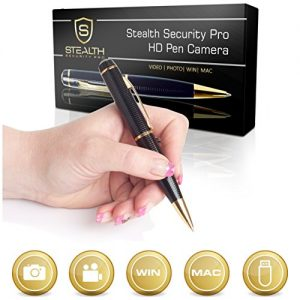 32GB-HD-Spy-Pen-Camera-100-Min-Video-Audio-Recorder-FREE-32GB-Memory-Card-5-Extra-Ink-Refills-Professional-Secret-Mini-Digital-Security-Pencil-With-Tiny-Undetectable-Cam-For-Hidden-Covert-Spying-0