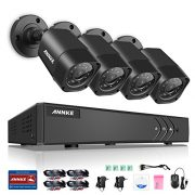Annke-8-Channel-1080P-Lite-Video-Security-System-DVR-and-4-Weatherproof-IndoorOutdoor-Cameras-with-IR-Night-Vision-LEDs-NO-HDD-0-0