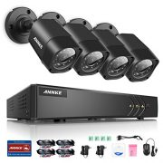 Annke-8-Channel-1080P-Lite-Video-Security-System-DVR-and-4-Weatherproof-IndoorOutdoor-Cameras-with-IR-Night-Vision-LEDs-NO-HDD-0