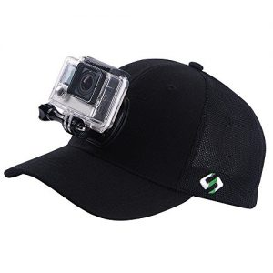 Summer-EditionSmatree-High-Breathable-Mesh-Baseball-Hat-for-GoPro-SmaHat-H2-with-Quick-Release-Buckle-Mount-for-GoPro-Hero-5-Hero-4-Session-3-3-2-1L-58-60cm-0