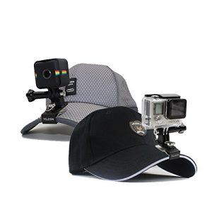 TELESIN-360-Degree-Rotating-Backpack-Clip-Hat-Clip-Stand-Mount-Quick-Release-Clamp-Mount-Fast-Clamp-Rec-mounts-for-GoPro-Session-and-All-Hero-Cameras-Xiaomi-SJCAM-and-Polaroid-Sport-Cameras-0