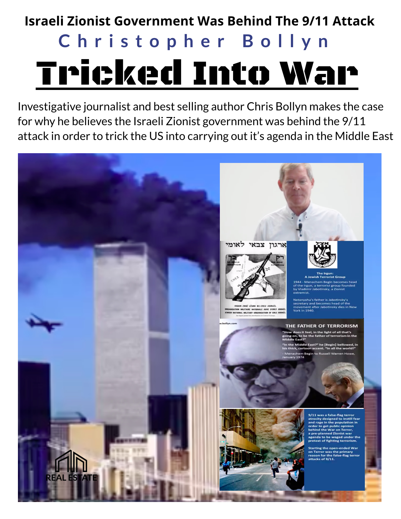 Tricked Into War – Israeli Zionist Government Was Behind The 9/11 Attack