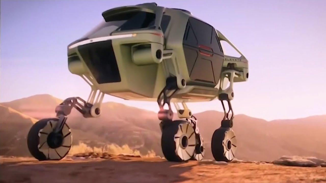 Cool Gadgets: Hyundai's concept car Elevate can walk like robots and climb a 5-foot wall
